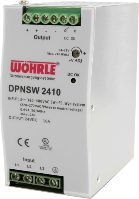 Schaltznetzgerät DPNSW 2410 von Wöhrle