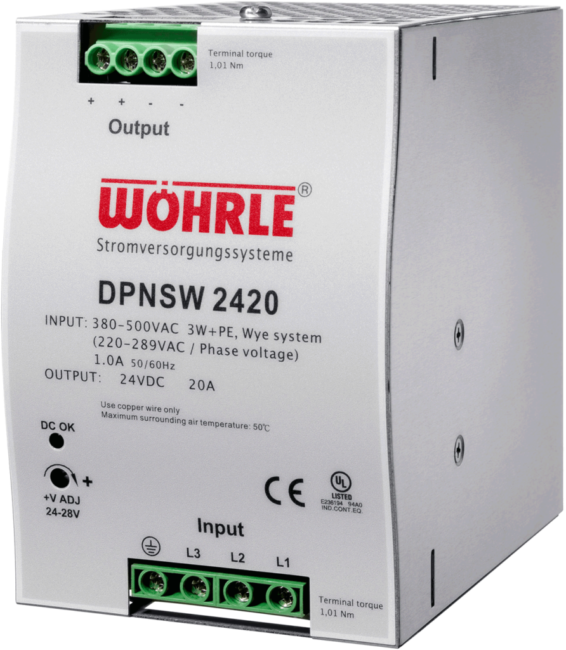 Schaltznetzgerät DPNSW 2420 von Wöhrle