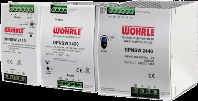 Schaltznetzgeräte DPNSW von Wöhrle
