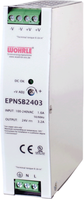 Schaltnetzgerät EPNSB 2403 von Wöhrle
