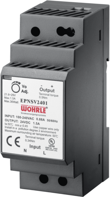 Schaltnetzgerät EPNSV 2401 von Wöhrle