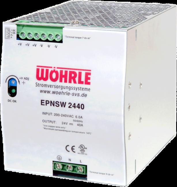 Schaltnetzgerät EPNSW 2440 angepasst von Wöhrle