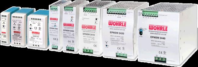 Schaltnetzgeräte EPNSW von Wöhrle