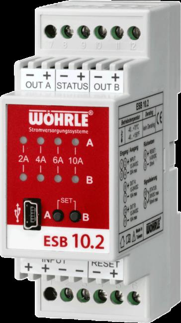 Elektronischer Strombegrenzer ESB 10.2 von Wöhrle