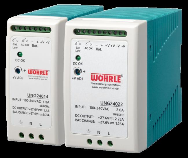 Wöhrle DC-USV-Modul mit integriertem Netzgerät