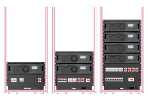 Wöhrle WP-Serie Typ R Rackvarianten