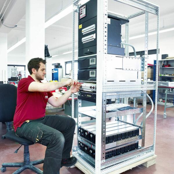 Aufbau einer USV-Anlage